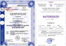 Informatii despre certificarile ANC